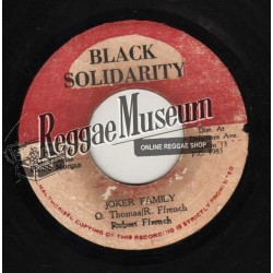 Robert Ffrench - Joker Family - Black Solidarity 7""