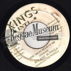 """Roland Burrell - You Must Believe Me - Kings Intl 7"""""""