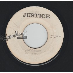 "Ronnie Davis - Good News - Justice 7"""