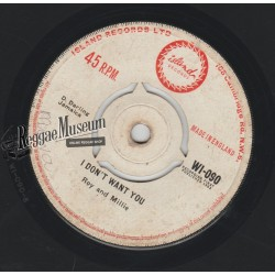 """Roy & Millie - I Dont Want You - Island 7"""""""