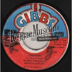 "Ruddy Thomas & Marcia Aitken - Emotion - Joe Gibbs 7"""