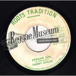 Sammy Dread - African Girl - Roots Tradition 7""