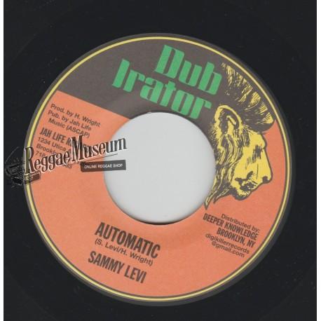 "Sammy Levi - Automatic - Dub Irator 7"""