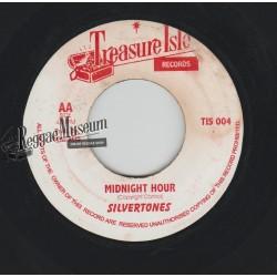 """Silvertones - Midnight Hour - Treasure Isle 7"""""""