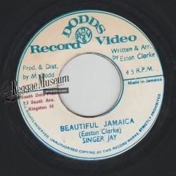 "Singer Jay - Beautiful Jamaica - Dodds 7"""
