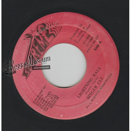 """Singer Jay - Lightning Ball - Supreme 7"""""""