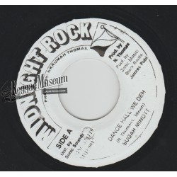 Sugar Minott - Dance Hall We Deh - Midnight Rock 7""