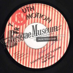 Sugar Minott - Everybody Got To Know - Youth Promotion 7""