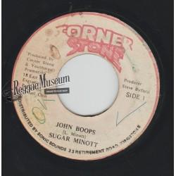 "Sugar Minott - John Boops - Corner Stone 7"""