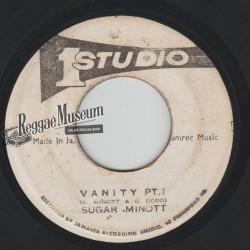 "Sugar Minott - Vanity - Studio 1 7"""