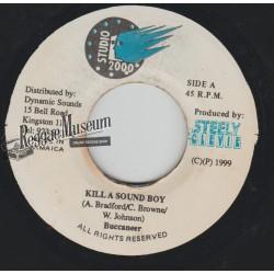 "Buccaneer - Kill A Sound Boy - Studio 2000 7"""