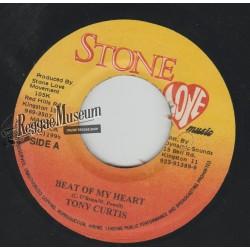 """Tony Curtis - Beat OF My Heart - Stone Love 7"""""""