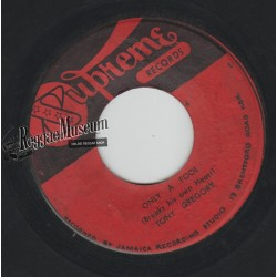 """Tony Gregory - Only A Fool - Supreme 7"""""""