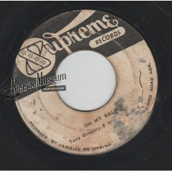 """Tony Gregory & Marcia - Oh My Baby - Supreme 7"""""""