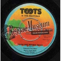 """Toots & Maytals - Papa Dee Mama Dee - Island 7"""""""