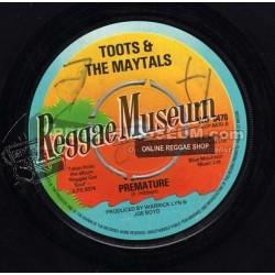 "Toots & Maytals - Premature - Island 7"""