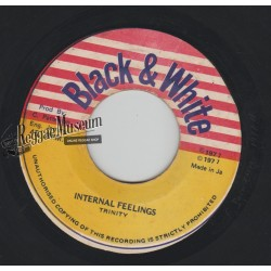 Trinity - Internal Feelings - Black & White 7""