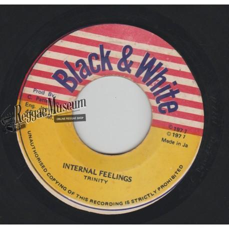 "Trinity - Internal Feelings - Black & White 7"""