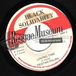"Triston Palmer - Loving Time - Black Solidarity 7"""