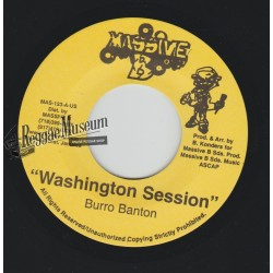 "Burro Banton - Washington Session - Massive B 7"""