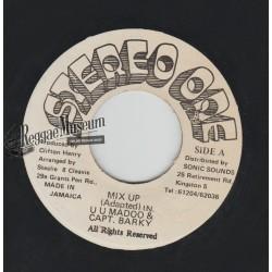 """UU Madoo & Captain Barkey - Mix Up - Stereo One 7"""""""