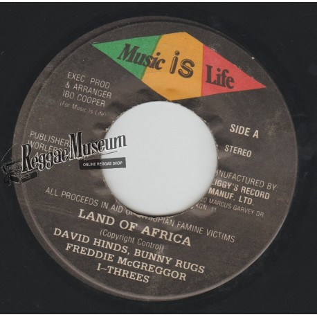 Various Artists - Land Of Africa - Music Is Life 7""