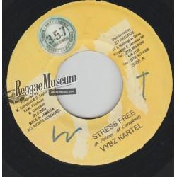 "Vybz Kartel - Stress Free - 357 records 7"""