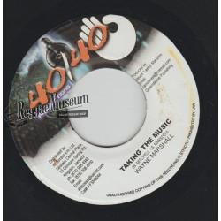 """Wayne Marshall - Taking The Music - 40 40 7"""""""