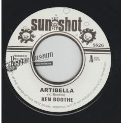 """Ken Boothe - Artibella - Sunshot 7"""""""