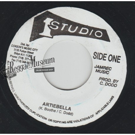 """Ken Boothe - Artibella - Studio 1 7"""""""