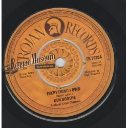 """Ken Boothe - Everything I Own - Trojan 7"""""""