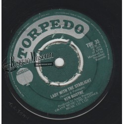 """Ken Boothe - Lady With The Starlight - Torpedo 7"""""""