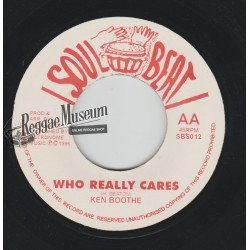 """Ken Boothe - Who Really Cares - Soul Beat 7"""""""