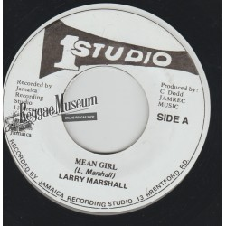 """Larry Marshall - Mean Girl - Studio 1 7"""""""