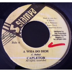 Capleton - Ask A Wha Do Dem - Stampa 7""
