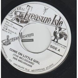 Melodians - Come On Little Girl - Treasure Isle 7""