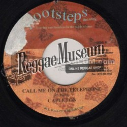 Capleton - Call Me On The Telephone - Footsteps 7""