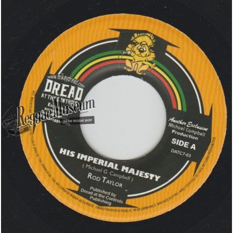 """Rod Taylor - His Imperial Majesty - Dread At The Controls 7"""""""