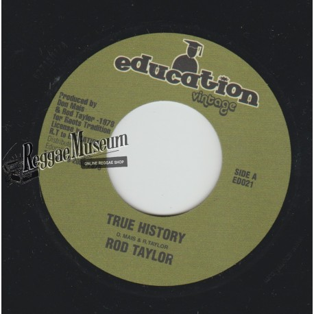 "Rod Taylor - True History - Education Vintage 7"""