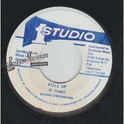 "Sound Dimension - Full Up - Studio 1 7"""