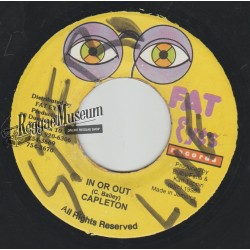 """Capleton - In Or Out - Fat Eyes 7"""""""
