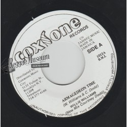 Willie Williams - Armagedeon Time - Coxsone 7""