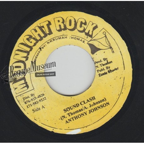 "Anthony Johnson - Sound Clash - Midnight Rock 7"""