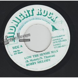 Bobby Melody - Low The Sensie Man - Midnight Rock 7""
