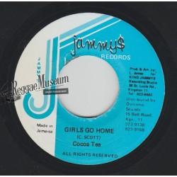 "Cocoa Tea - Girls Go Home - Jammys 7"""