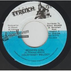 "Courtney Melody - Modern Girl - Ffrench 7"""