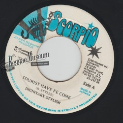 Dignitary Stylish - Tourist Have Fe Come - Black Scorpio 7""