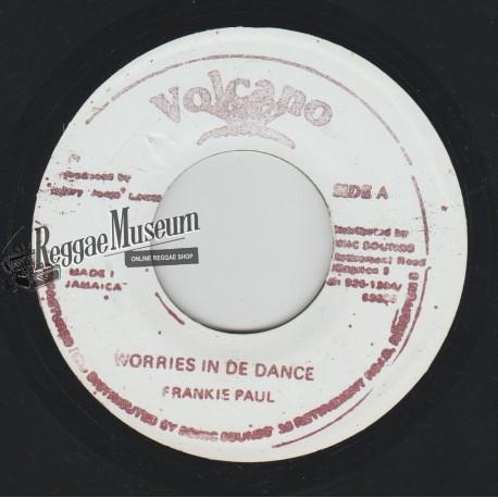 """Frankie Paul - Worries In De Dance - Volcano 7"""""""