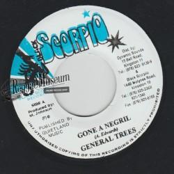 "General Trees - Gone A Negril - Black Scorpio 7"""