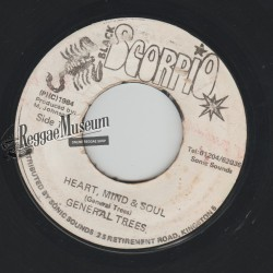 """General Trees - Heart Mind And Soul - Black Scorpio 7"""""""